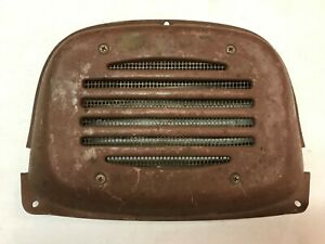 Original 1953 To 1955 Ford Truck Radio Speaker Grille Cover F100 F250