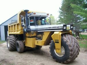 1603t Terra Gator Dump Truck 1 Of A Kind 3208 Cat Rebuild Well Maintained