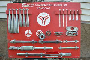 Snap On Combination Puller Set Cg 2500 S Heavy Duty Used