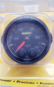 Autometer Fuel Press Elite Series Gauge 8163 05702 Nascar Dirt Late Model Arca