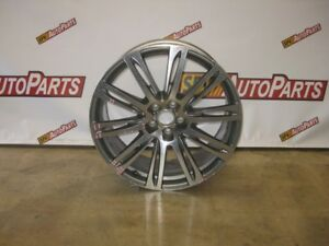 Audi A7 Wheel 2012 2013 2014 2015 20 Stainless Rim 4h0 601 025 Ae Oem