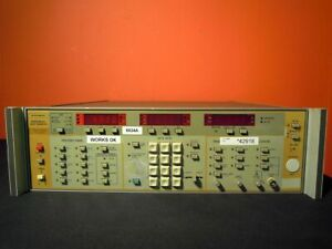 Wiltron 6624a Opt s 01 9n 4 To 8 Ghz Programmable Sweep Generator Tested