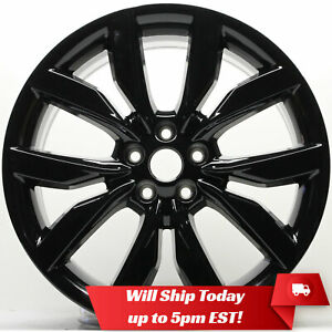 New 19 Replacement Alloy Wheel Rim For 2017 2018 2019 Ford Escape 10112 Black