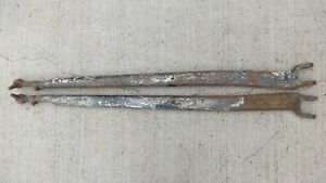 1932 1933 1934 Ford Split Wishbones W Ends Original Pair Custom Rod Cut