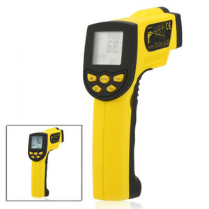 50 1300 Non contact Infrared Ir Digital Thermometer Temperature Gun W2n6