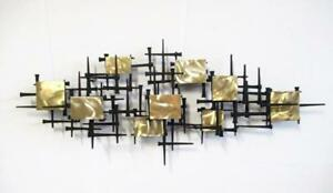 Mid Century Modern Wall Sculpture In The Brutalist Style Of Bowie Eames Jere