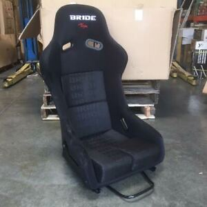 Bride Style Vios Iii Fixed Back Full Racing Bucket Seat Black Frp Shell Large