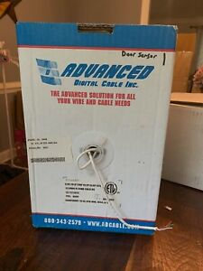 22awg 4c 4 Conductor Shielded Stranded Wire Cable 1000 Box