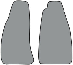 Floor Mat For 1956 1962 Mg Mga Pattern Cutpile 2pc Complete