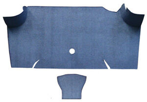 Trunk Mat For 1967 68 Ford Mustang Fastback Trunk Kit Floor Only Loop