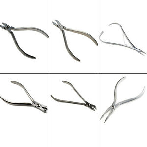 Dental Orthodontic Pliers Ligature arch Wire distal End Cutter Cutting Use