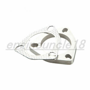 A Set Of 2 5 3 Bolt Exhaust Flange Exhaust Gasket For 3 Bolt Flange Us