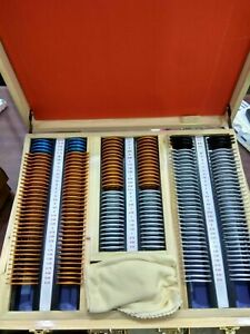 Trial Lens Set Case With Frame Optical Plastic Rim Optometry 172pcs New Kit