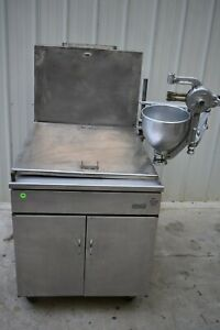 Pitco 24p Natural Gas Donut Fryer