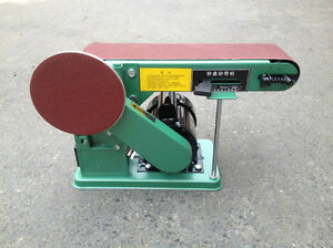 550w Electric Belt Disc Sander Multifunctional Combination Sander 220v