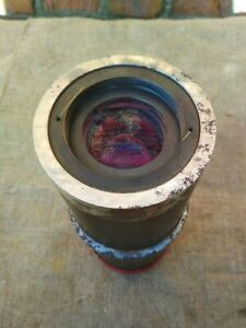 Industrial Lens Microscope Objective Photolithography Big Heavy Ussr
