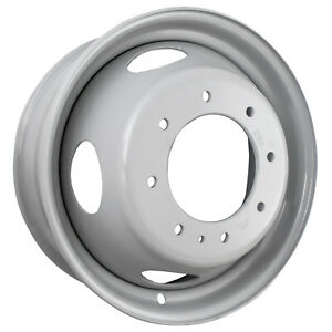 19 5 X 6 75 4 Slot Direct Fit Replacement Ford Steel Wheel Gray 3345