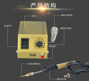 220v 18w Mini Soldering Iron Station For Smd Smt Dip Ic Soldering Work 50 450