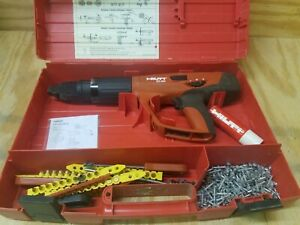 Hilti Dx460 Fully Automatic Powder actuated Tool W Case Pre owned