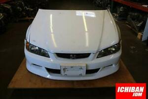 Honda Euro R 98 02 Accord Front Conversion Hood Fender Headlights H22a Nose Jdm
