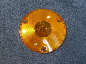 New 1957 1958 Ford Truck Amber Parking Light Lens F 100 F 250 F 350