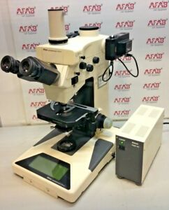 Nikon Microphot fxa Fluorescence Microscope With Nikon Psm 4a Power Supply