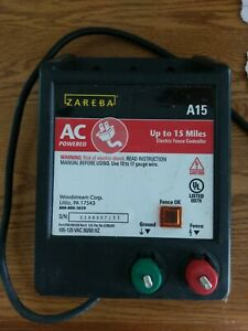 Zareba Ac Powered Solid State 15 Mile A15 Fence Charger