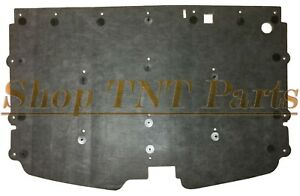 1988 1998 Chevy Truck Hood Insulation Pad W Clips C10 K10 Suburban 1 2 Low Pro