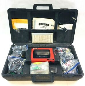 Snap On Modis Eems300 Automotive Scanner Tool W Large Accessory Kit