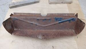 1942 1946 1947 Ford Truck Lower Grille Pan Original Pickup Panel Behind Grill V8