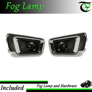 2004 2012 Chevy Colorado Assembly Bumper Driving Fog Lights
