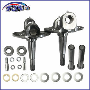 Straight Axle Round Spindle With King Pin Kit For 1928 1948 Ford