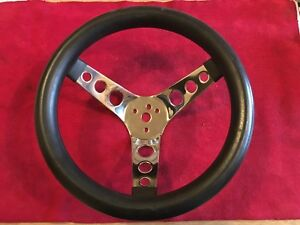 Vintage Covico Steering Wheel Hot Rod Drag Gasser Boat Race Moon Superior Grant