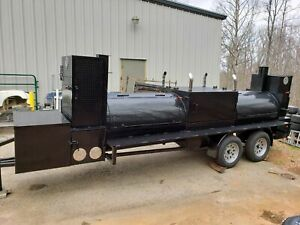 Generator Box T Rex Bbq Smoker Cooker Grill Trailer Mobile Food Truck Business