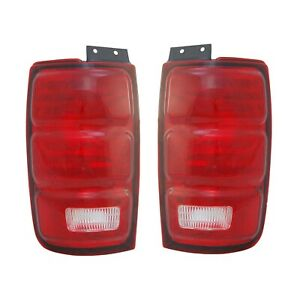 New Tail Light Pair Fits Ford Expedition 1997 2002 F75z 13404 Ac F75z 13404 ac