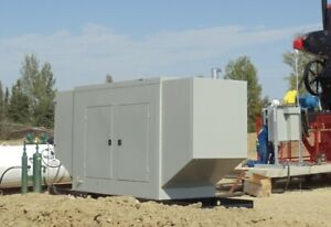 2014 Surplus New Ng125 Src Power Systems 125 Kw Natural Gas Generator 480 Volt