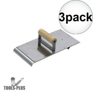 Kraft Tool Cf656 Decorative Concrete Border Edger Groover Tool Stainless 3x New