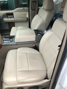 Crew Cab F150 Leather Seats 2005 Front Buckets 04 05 06 07 08 F 150 Ford Truck