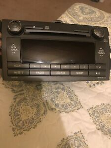 Toyota Corolla Stereo Radio Cd Player Original For 2009 2010 2011