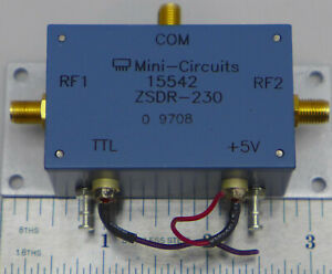 Mini circuits Zsdr 230 Spdt Coaxial Switch