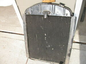 41 46 1941 1946 Chevy Truck Nos Gm Radiator Original Harrison Hd 3 Inch Core