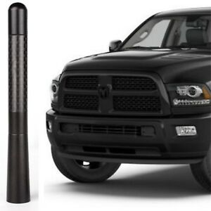 Short Antenna Billet Aluminum And Carbon Fiber For Dodge Ram Fits All Years