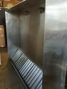 8 96 Pizza Oven Hood Commercial Restaurant Kitchen Exhaust