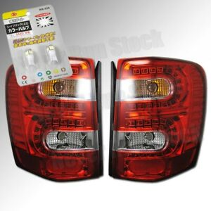 Jeep Grand Cherokee Oe Style Red Led Tail Lights Led White License Plate Bulbs