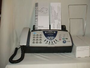 Brother Fax 575 Personal Plain Paper Fax Phone Copier 2 Refill Ribbon Dual Pac