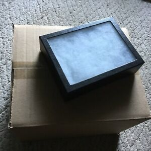 1 Case of 10 6 X 8 X 2 Display Cases extra Thick riker Type
