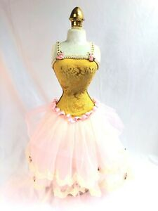 Doll Dress Form Mannequin Female Table Top Sewing Decor Jewelry Display 27 5
