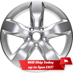 New 20 Hyper Silver Replacement 2011 2012 2013 Jeep Grand Cherokee Alloy Wheel