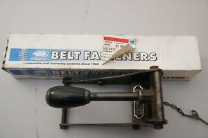 South Bend Lathe Clipper Belt Lacer Tool With Staples Atlas Logan