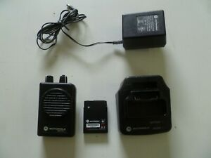 Motorola Minitor V Stored Voice 45 48 9 Mhz Low Band Fire Ems Pager G203